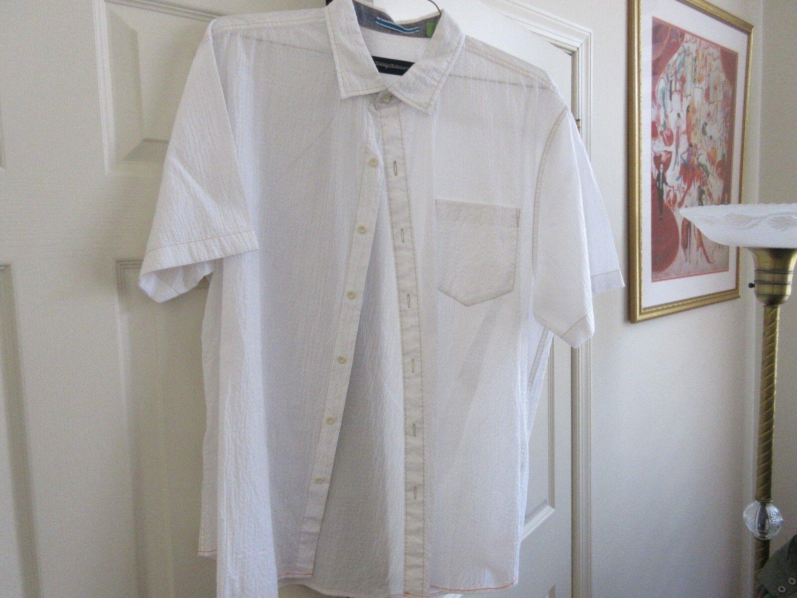 Tommy Bahama , Men's Short Sleeve Shirt , XL/TG ,99%Cot
