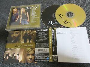 ALY & AJ / into the rush / JAPAN LTD CD&DVD OBI