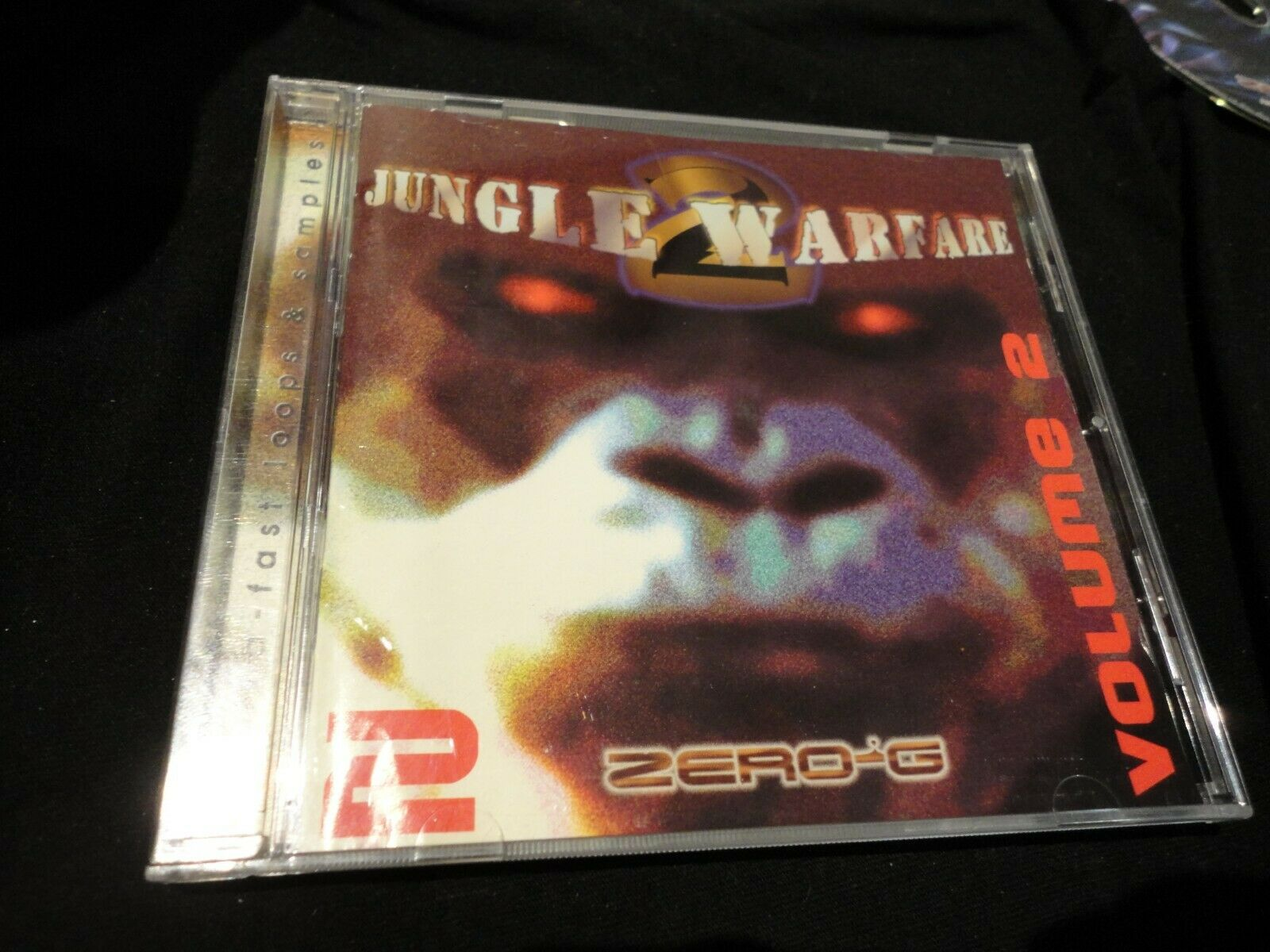 Jungle Warfare Volume 2 - Zero G Audio Sample CD  sampler  East West  Zero G