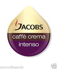 48 x Tassimo Jacobs Caffè Crema Intenso CAFFE 'T-Disc (VENDUTE SCIOLTE)