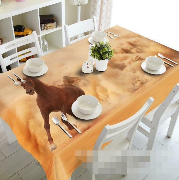 3D Sand Dust 5 Tablecloth Table Cover Cloth Birthday Party Event AJ WALLPAPER AU