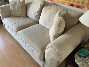 Charmant Details About Sofa Set Living Room,beige, Looks New Made By Alan White  Stamps AR