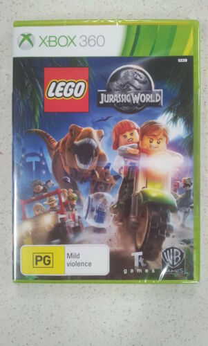 1 of 1 - Lego Jurassic World Xbox 360 Brand New