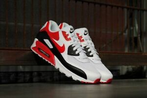 Nike-Air-Max-90-Essential-Hommes-Sneaker-Chaussures-Hommes-Chaussures-De-Sport-537384-129-40