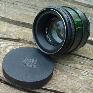 Helios-44-2-Vintage-sowjetischen-Objektiv-58mm-f2-m42-UdSSR-BOKEH-fuer-Canon-Nikon-Sony