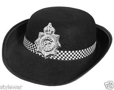 58cccb56 Details about WPC Kids Children Girls Boys Police Hat Police Book Day Fancy  Dress Costume Hats