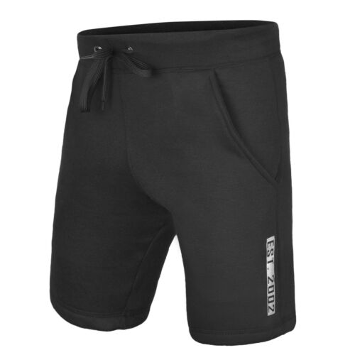 DEFY Men/'s Casual Classic Fit Fleece Shorts Jogger Gym Fitness Exercise New
