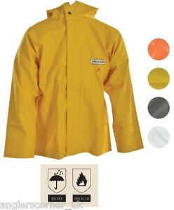 Ocean Off Shore Classic FR / Flame Resistant Jacket / Work Wear / Fishing / 8-17