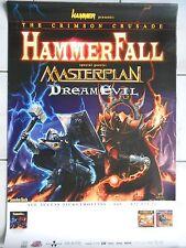 HAMMERFALL-MASTERPLAN  2002   orig.Concert-Konzert-Tour-Poster-Plakat  DIN A1 .