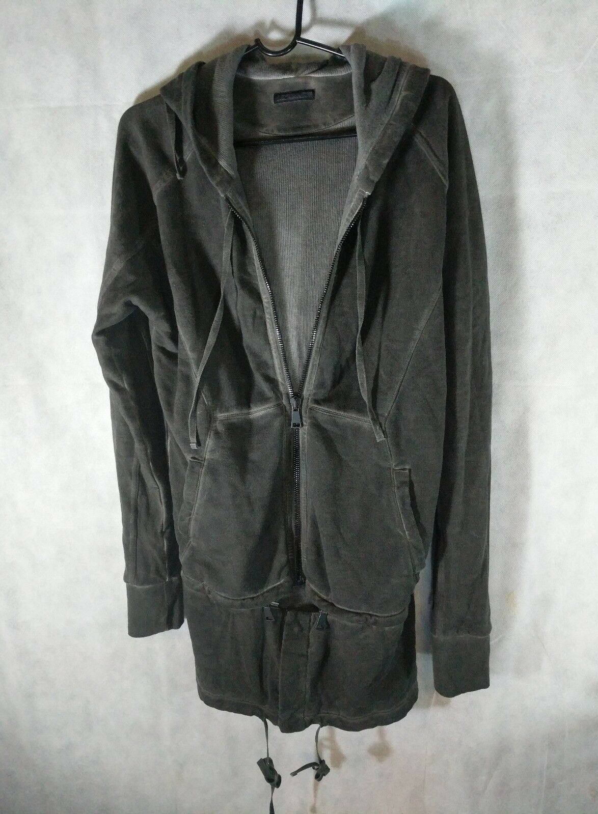 Alexandre Plokhov Zip Off X Long Smoke Dyed Hoodie Sold Out 885