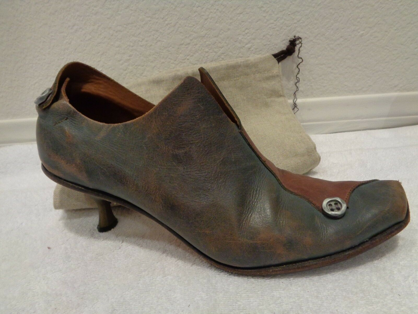 CYDWOQ multi multi multi color ankle shoe boots SZ 39.5 9.5 9 9b0ad0