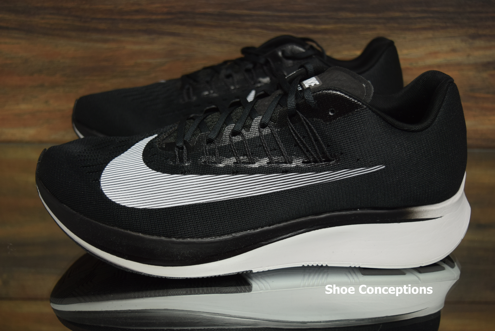 8fed286fc73d ... Nike Zoom Fly Fly Fly Black White 880848-001 Running shoes Men s -  Multi Size ...