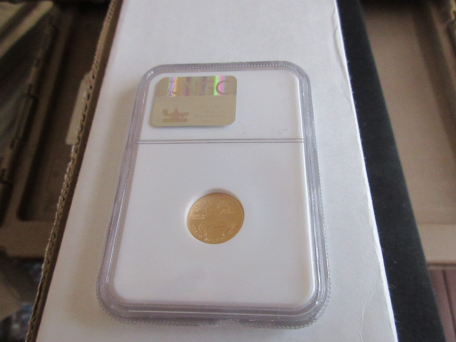2003 , Eagle , G5$ , NGC , MS 69 , Tenth-Ounce Gold Ame
