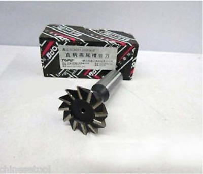 New 1pc 12mm X 60 Degree HSS Straight shank Dovetail Cutter End Mill Bit