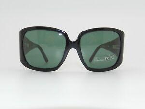 2651fa1b4c8 Image is loading Authentic-Vintage-GIANFRANCO-FERRE-Sunglasses -GF87801-Black-RARE