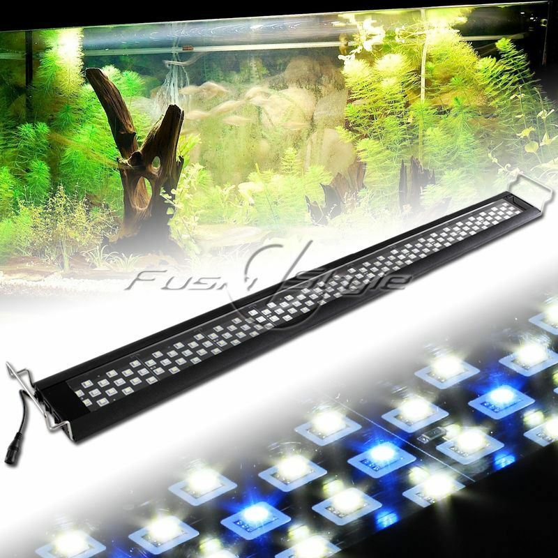180LEDs White bluee 0.5W LED Light Full Spectrum Aquarium Fish Tank Light 45 -52