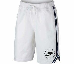 Nike Sportswear NSP Canvas Shorts Women's Size Small AR3010-100 White