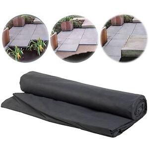 Weed Control Couvre-sol Tissu Membrane 8 M, X 1.5 M Abat-aménagement Paysager-afficher Le Titre D'origine