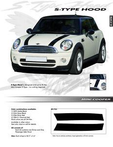 For-MINI-COOPER-Graphics-Kit-EE1723-Decals-Trim-Emblems-S-TYPE-HOOD-2004-2013