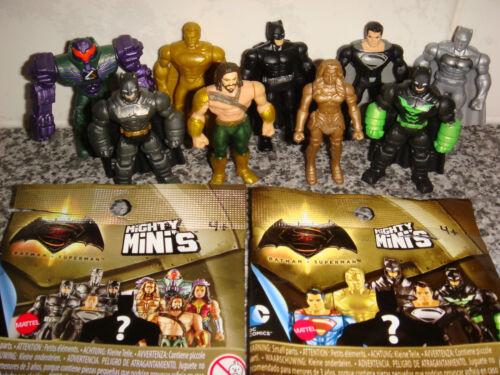 BATMAN v SUPERMAN Wonder Woman Dawn of JusticeMighty Minis Figures Random  X4