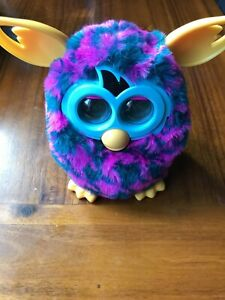 Furby Boom Purple Houndstooth Great Condition | eBay