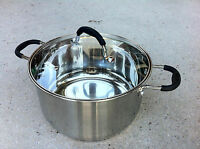 Parini 7.0 Qt Dutch Oven With Lid Stainless Steel