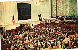 Vintage Postcard - The New York Stock Exchange Nation's Market Place #2504