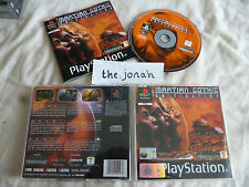Martian Gothic Unification PS1 (COMPLETE) Sony Playstation black label rare