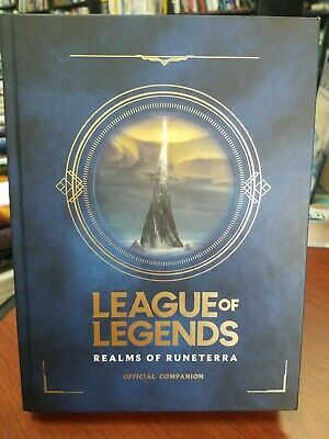 LOL League of Legends Official Story Book The World of Runeterra Authentinc
