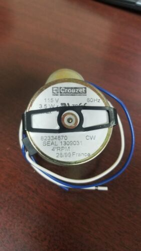Crouzet 82334870 4 RPM Electric Stepper//Control Motor NEW!
