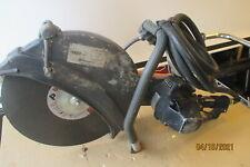 Husqvarna K40 Power Cutter 14 Air Powred Cut Off Saw Pneumatic Demo Saw