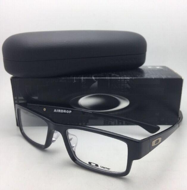 78ae9c56bb Oakley Airdrop MNP Eyeglasses. 8121-01 Satin Black Size 55 for sale ...