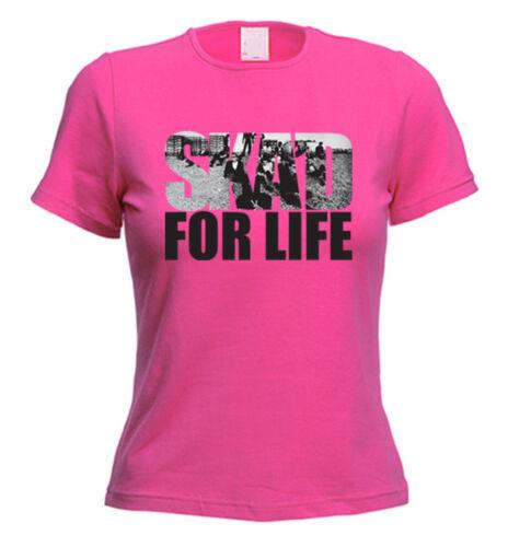 SKA/'D FOR LIFE T-SHIRT Ska Madness The Specials Mod Trojan Choice Of Colours