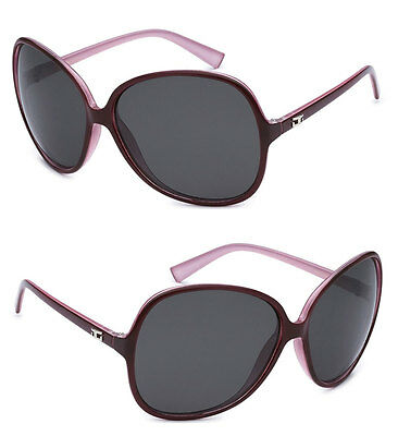 CG Oversized Womens Fashion Sunglasses UV Protect - Purple CG104