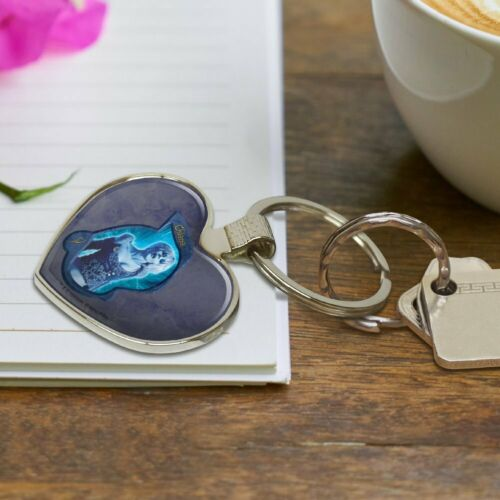 Farscape Chiana Nebari Keychain Heart Love Metal Key Chain Ring