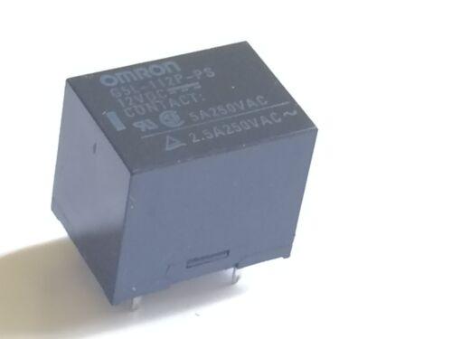 12V RELAY OMRON G5L-112P-PS 5A 250V CONTACTS                               fd1e1