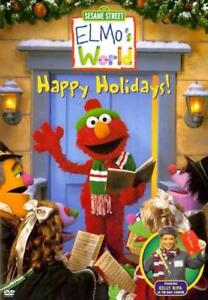 Details About Elmo S World Happy Holidays New Dvd