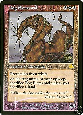 Prophecy Bog Elemental NM MTG Foil