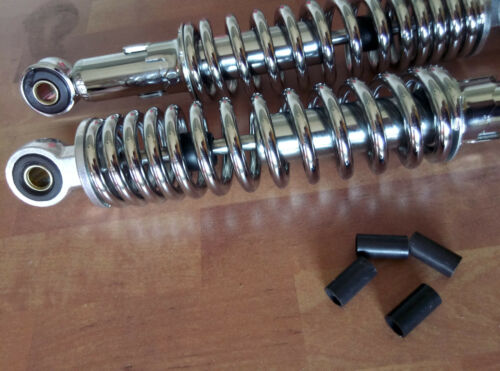 Stoßdämpfer Satz 280 mm verchromt Hercules Sachs Jogging Optima 3 S