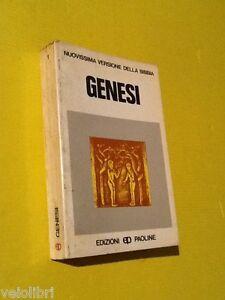GENESI-Nuovissima-versione-della-Bibbia-1983-Edizioni-Paoline