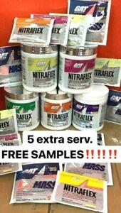 GAT-NITRAFLEX-Pre-Workout-30-Servings-Choose-Flavor-and-Size-5-SERVING-FREE