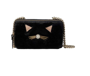 Lane Brighton Black York Spade Purse Crossbody Kate Bag Nieuwe Cat Goudsbloem IYgbm6vfy7
