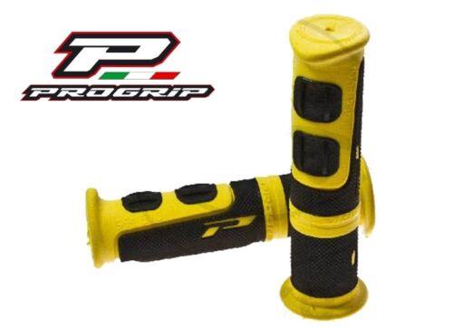 Caoutchouc Guidon poignées poignée caoutchouc jaune polaris trail Blazer 250 Boss 330