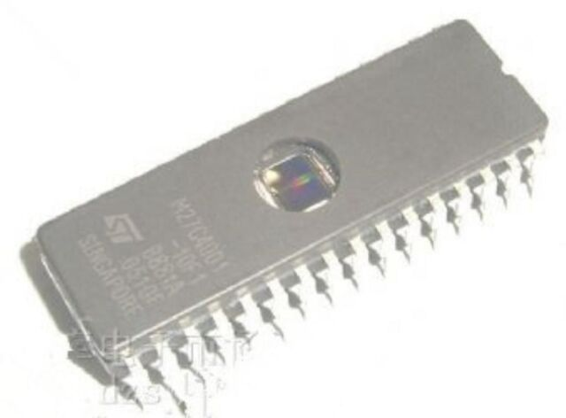 ST M27C800-100F1 FDIP-42W 8 Mbit 1Mb x8 or 512Kb x16 UV