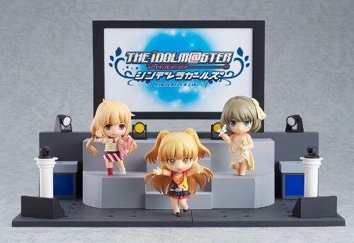 Nendoroid Petite THE IDOLMaSTER CINDERELLA GIRLS Anzu Kaede Rika Live Stage Set