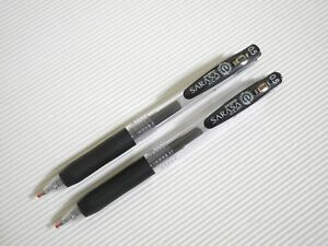 2pcs-Zebra-Sarasa-Clip-0-5mm-extra-fine-roller-ball-pen-Black-Japan