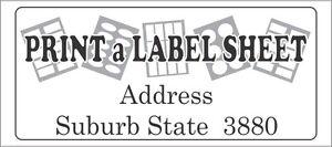 Custom-Label-Sticker-Laser-Printed-Return-Address-etc-5-x-A4-Sheets