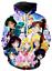 MenWomen-3D-Print-Anime-Sailor-Moon-Casual-Hoodie-Sweatshirt-Jacket-Pullover-Top miniature 21