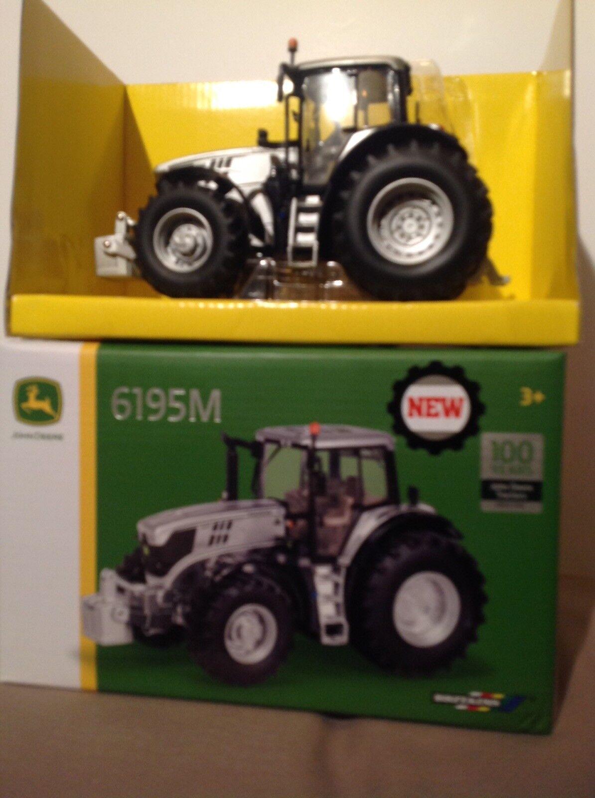 John Deere Ertl Britains 1 32 100th 100th 100th Anniversary European Edition 6195M Tractor 8666b0
