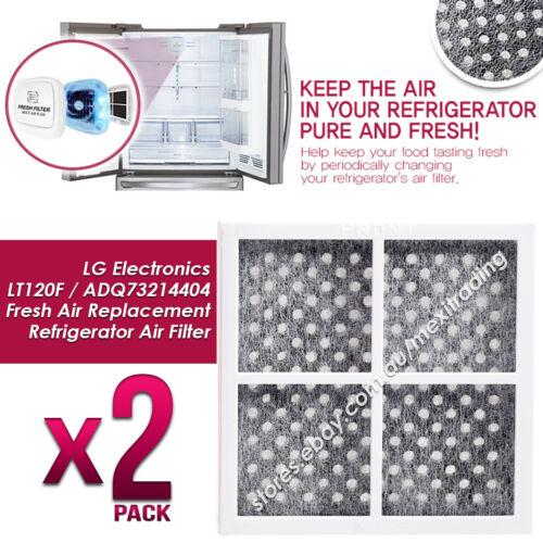 Pack of 2 x LG Fridge Air Filter Fits LG Pure N Fresh GF-AD910SL GF-B590PL